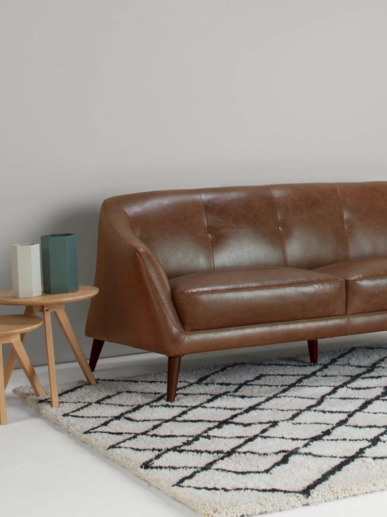 Splitmind il divano vintage in pelle di made - Divano pelle vintage ...