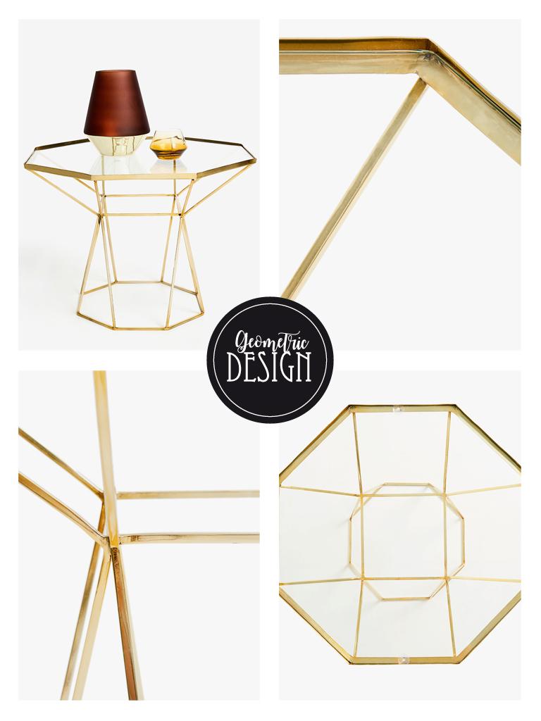 Splitmind il tavolino dalla struttura geometrica di zara for Divano zara home